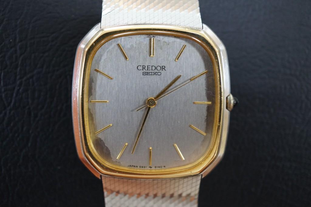 No.403  SEIKO CREDOR(セイコー クレドール) 自動巻き腕時計を修理しました