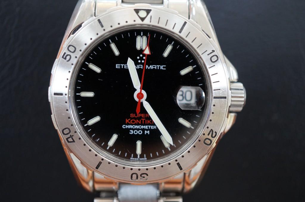 No.401  ETERNR MATIC 自動巻き腕時計を修理しました