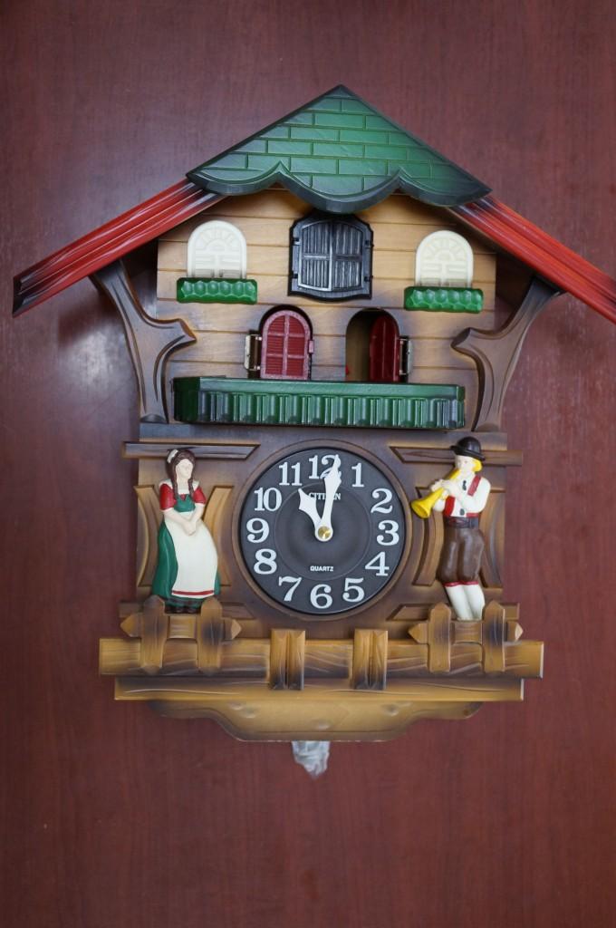 No.400  アンテイーク CITZEN(シチズン)掛け時計を修理しました