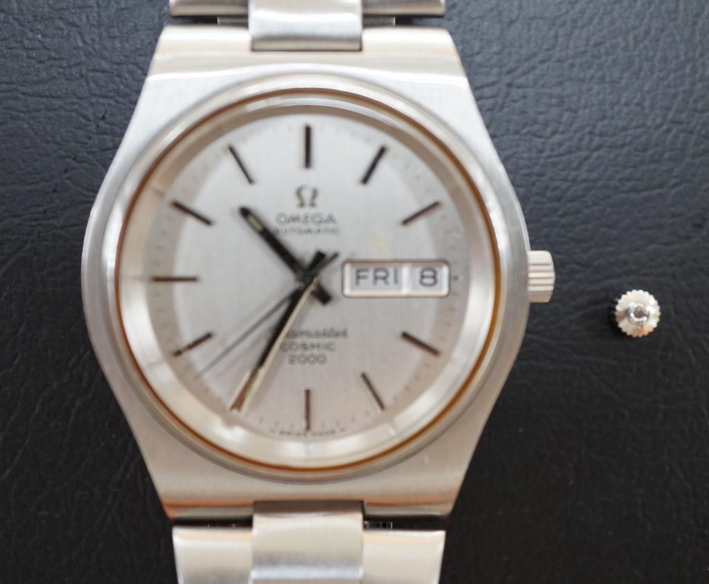 No.416  OMEGA COSMIC(オメガ コスミック)自動巻き腕時計を修理しました