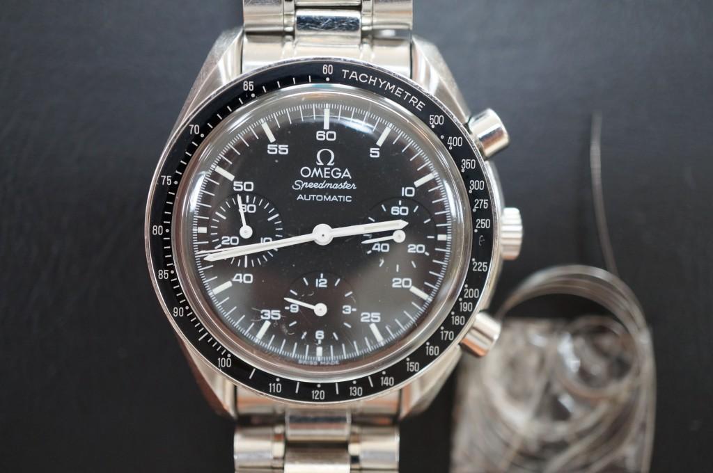 No.397  OMEGA (オメガ スピードマスター)自動巻き腕時計を修理しました