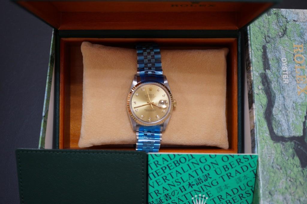 No.396  ROLEX (ロレックス) 自動巻き腕時計を修理しました