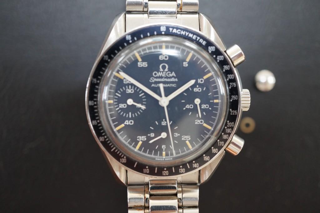No.394  OMEGA (オメガ スピードマスター)自動巻き腕時計を修理しました