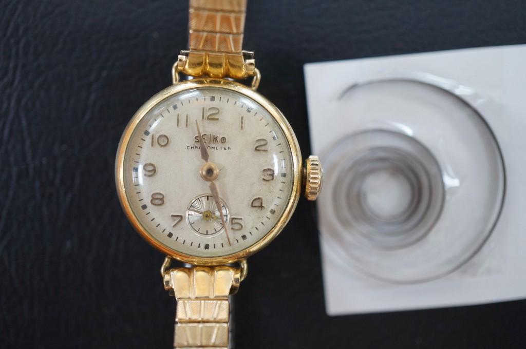 No.417  SEIKO(セイコー)手巻き腕時計を修理しました
