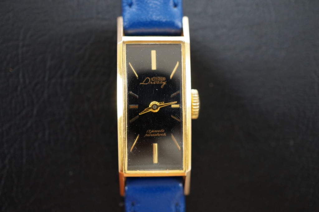 No.391  SEIKO (セイコー)手巻き腕時計を修理しました