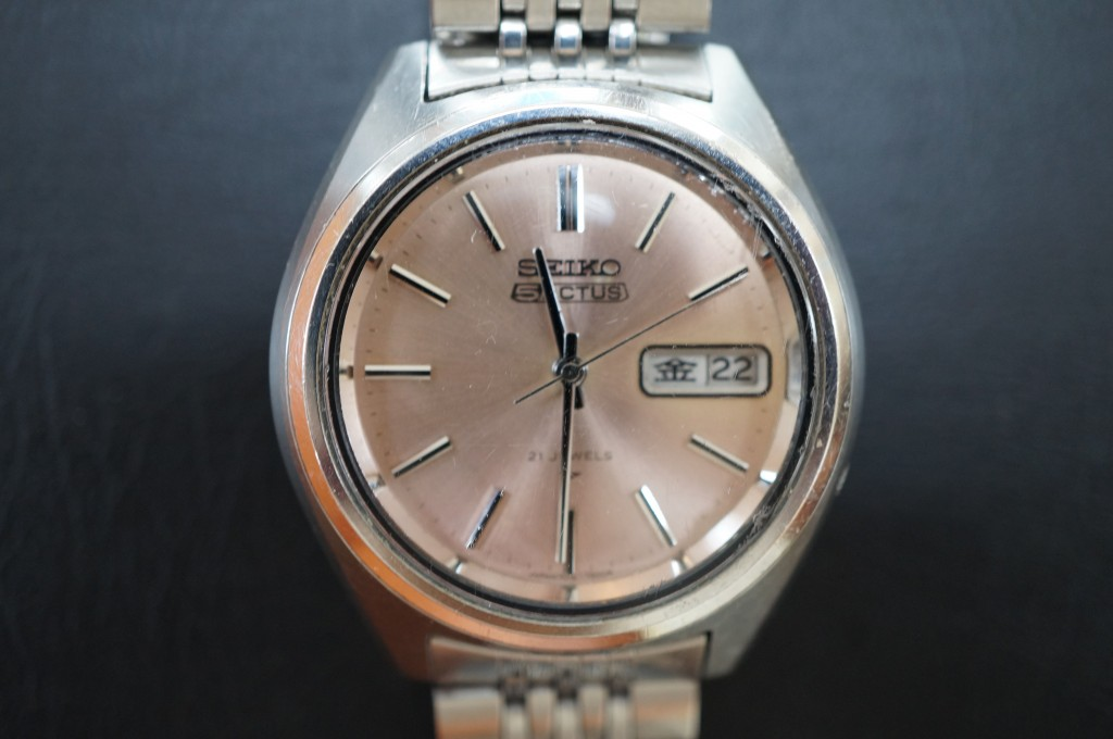 No.392  SEIKO 5 自動巻き腕時計を修理しました