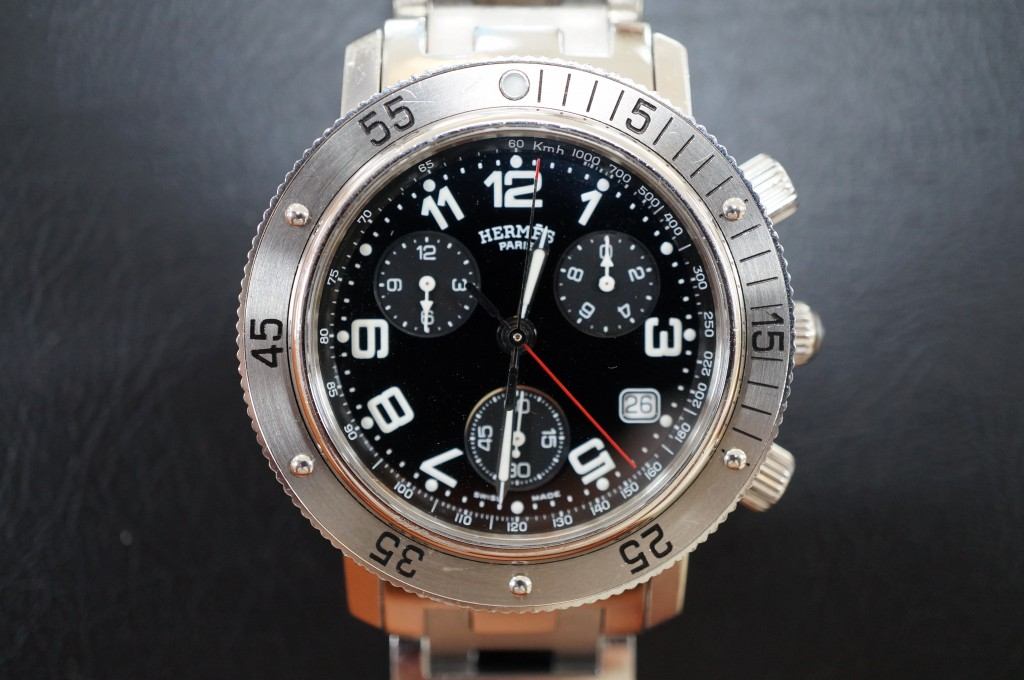 No.390  HERMES (エルメス)自動巻き腕時計を修理しました