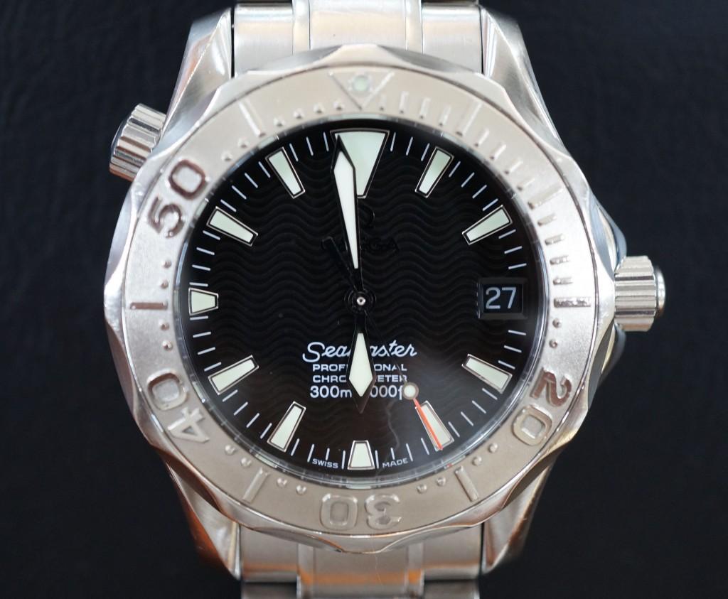 No.387  OMEGA (オメガ シーマスター)自動巻き腕時計を修理しました