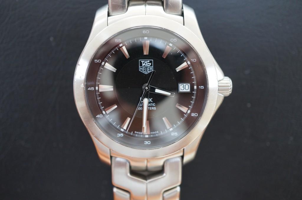 No.384  TAG HEUER (タグホイヤー)LINK 自動巻き腕時計を修理しました