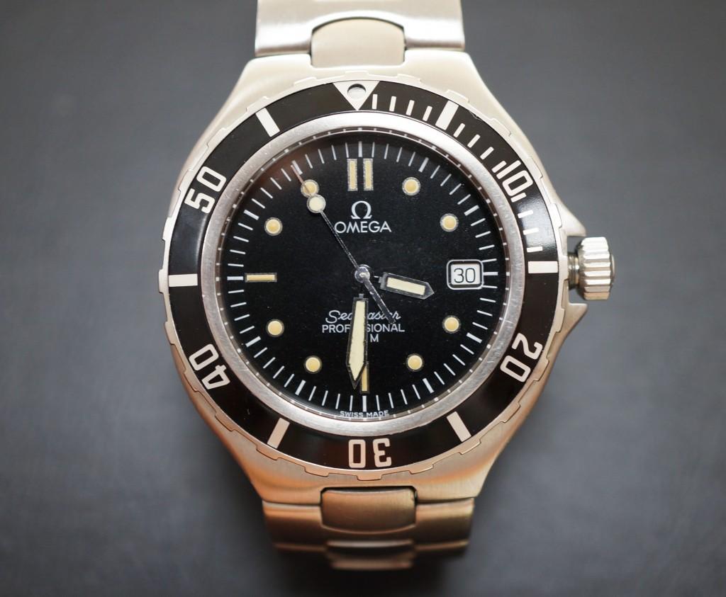 No.385  OMEGA (オメガ)クォーツ腕時計を修理しました