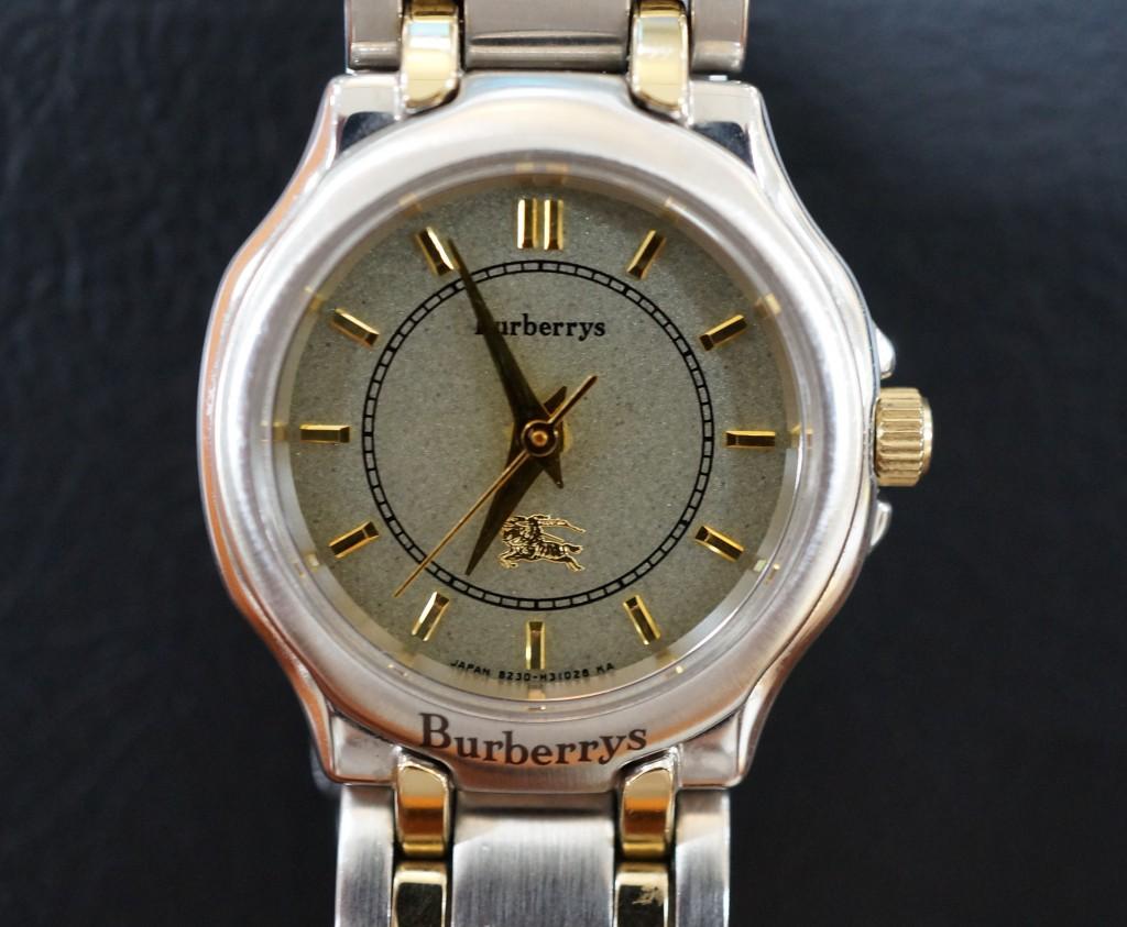 No.383  Burberry (バーバリー)クォーツ腕時計を修理しました