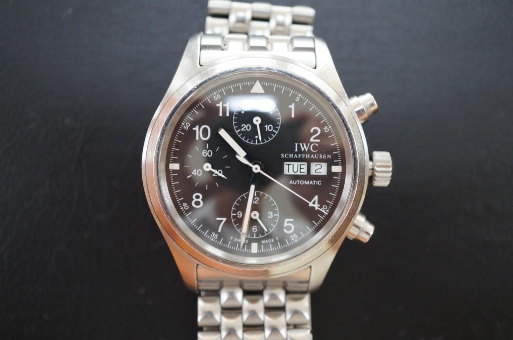 No.382  IWC (インターナショナル・ウォッチ・カンパニー)  自動巻き腕時計を修理しました