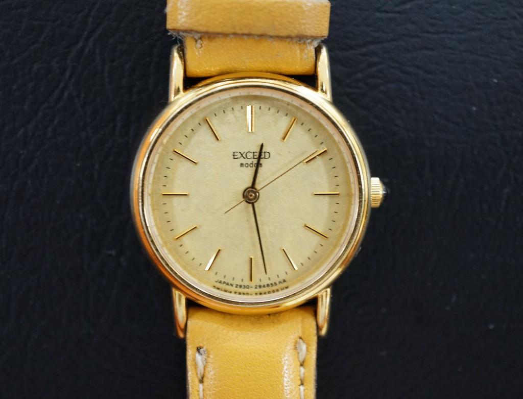 No.414  CITIZEN (シチズン)クォーツ腕時計を修理しました