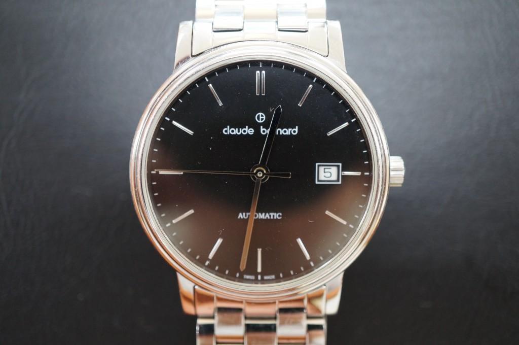 No.413  claude bernard (クロードベルナール) 自動巻き腕時計を修理しました