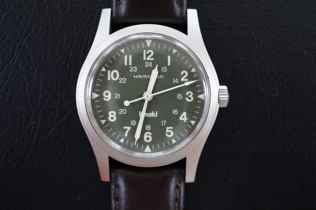 No.415  Hamilton (ハミルトン) 手巻き腕時計を修理しました