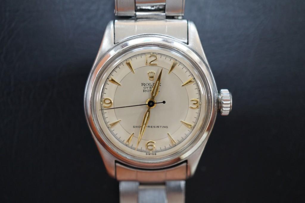 No.409  ROLEX (ロレックス) 自動巻き腕時計を修理しました