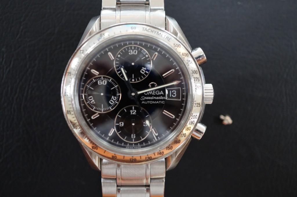 No.407  OMEGA (オメガ スピードマスター)自動巻き腕時計を修理しました