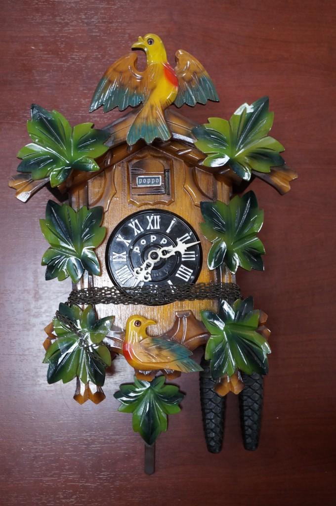 No.446  アンテイーク POPPO 掛け時計を修理しました