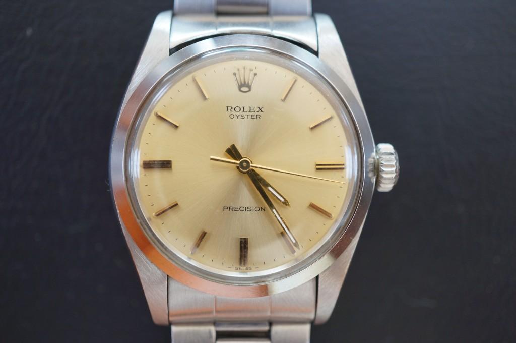 No.445  ROLEX (ロレックス) 自動巻き腕時計を修理しました