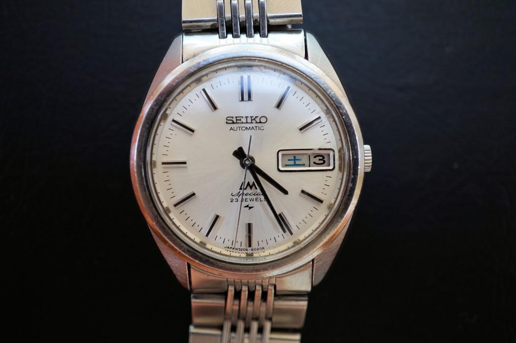No.455  SEIKO (セイコー)自動巻き腕時計を修理しました