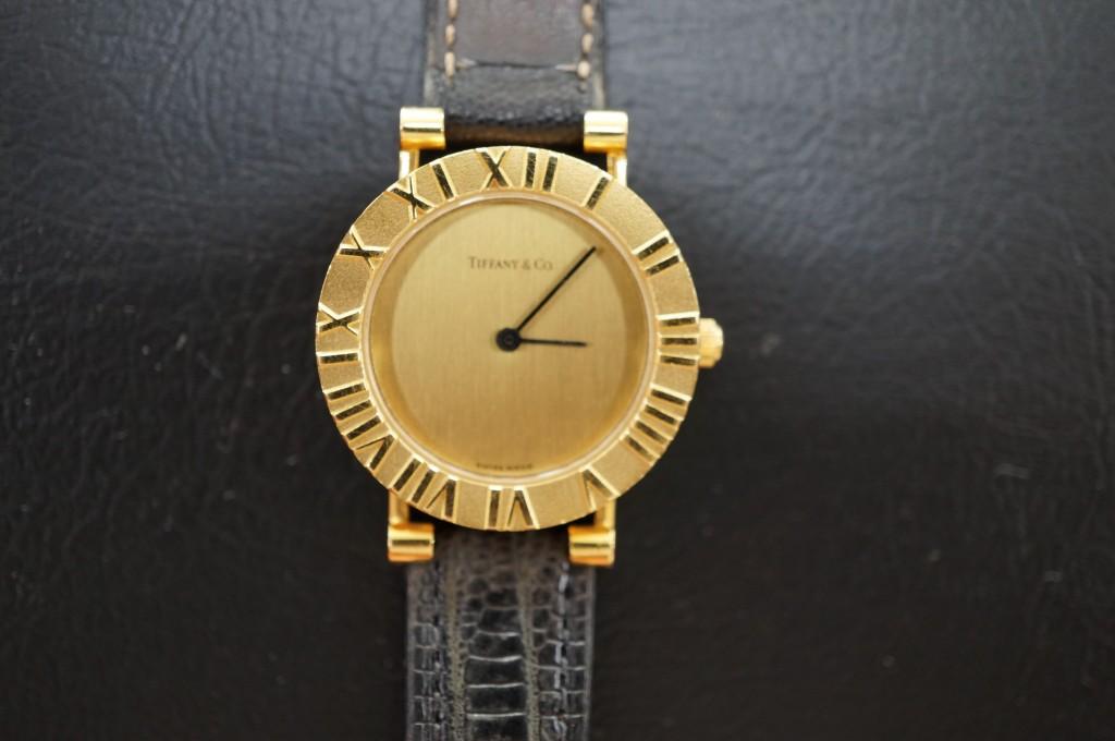 No.452  TIFFANY & co.(ティファニー)クォーツ腕時計を修理しました
