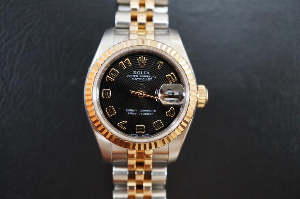 No.451  ROLEX  (ロレックス) 自動巻き腕時計を修理しました