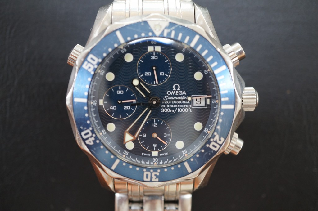 No.449  OMEGA  Seamaster(オメガ シーマスター)自動巻き腕時計を修理しました