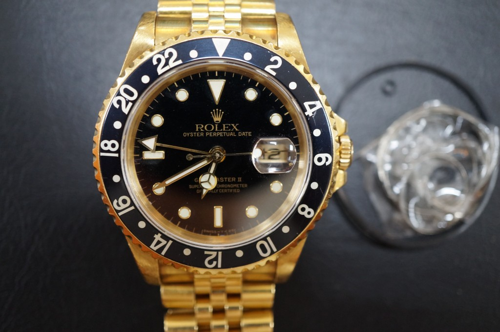 No.447  ROLEX  GMT2(ロレックス) 自動巻き腕時計を修理しました