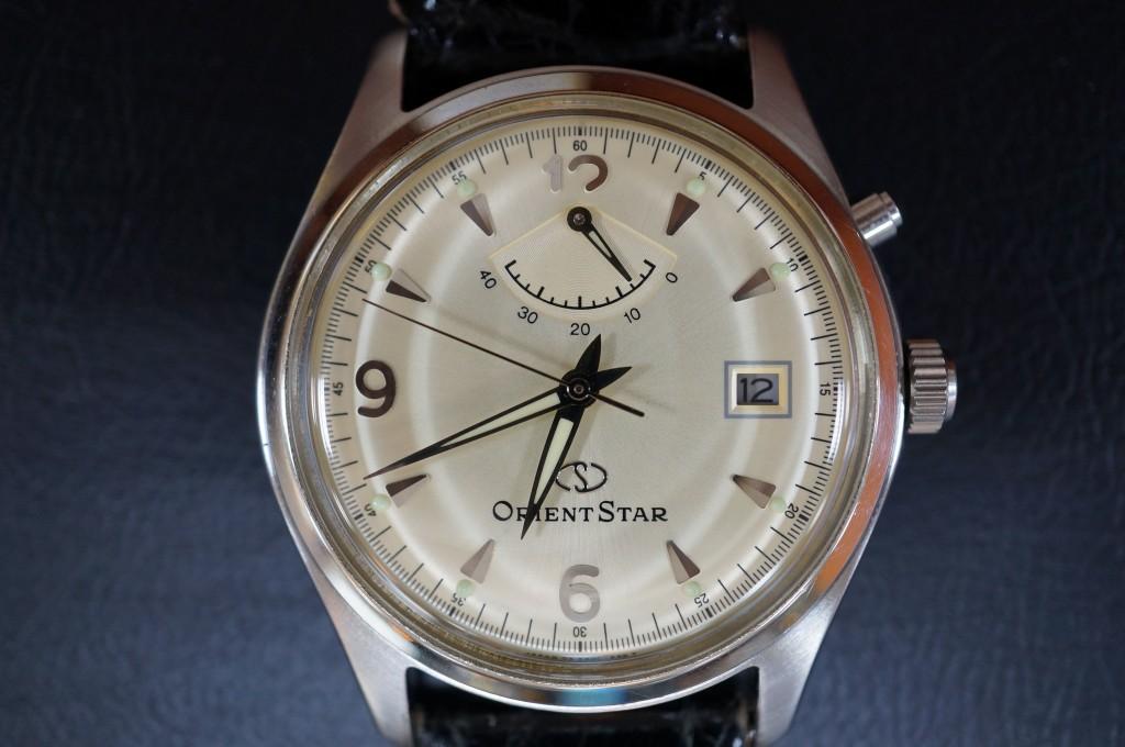 No.446  ORIENT STAR (オリエント) 自動巻き腕時計を修理しました