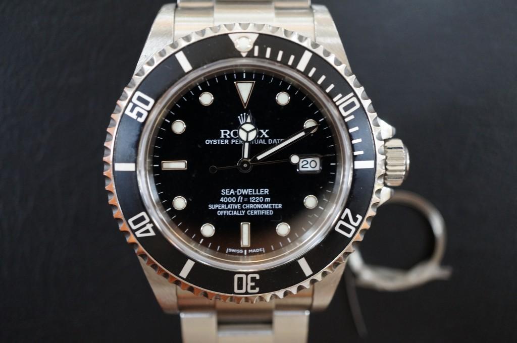 No.422  ROLEX  SEA-DWELLER(ロレックス シードウェラー) 自動巻き腕時計を修理しました
