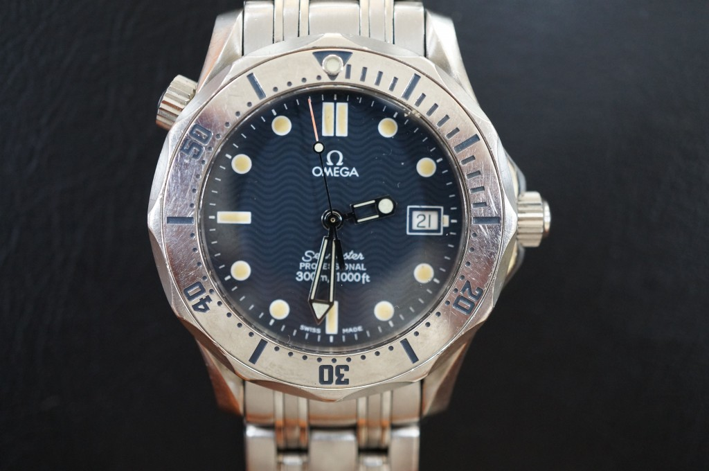 No.420  OMEGA (オメガ シーマスター) クォーツ腕時計を修理しました