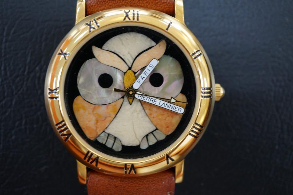 No.418  Pierre Lannier クォーツ腕時計を修理しました
