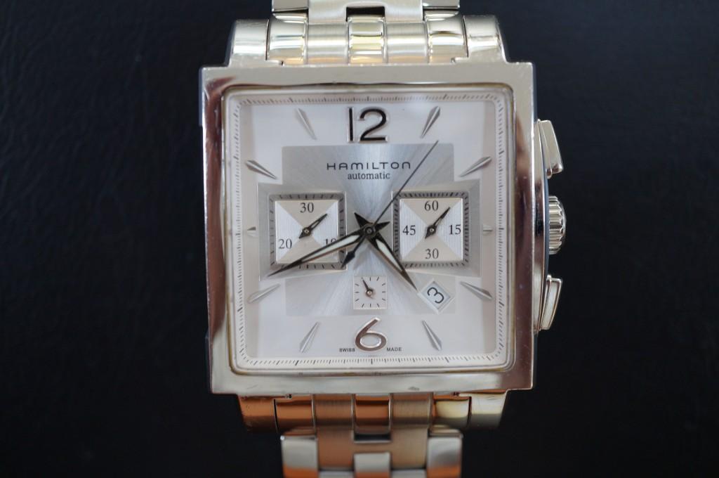 No.464  HAMILTON(ハミルトン)自動巻き腕時計を修理しました