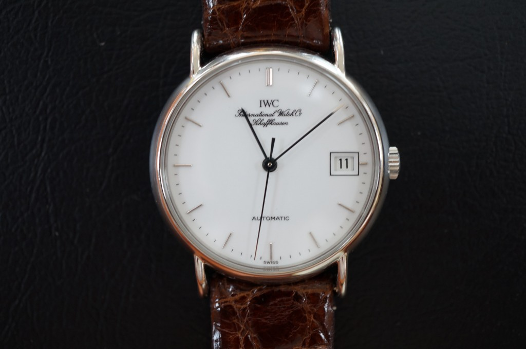 No.459  IWC (インターナショナルウォッチカンパニー) 自動巻き腕時計を修理しました