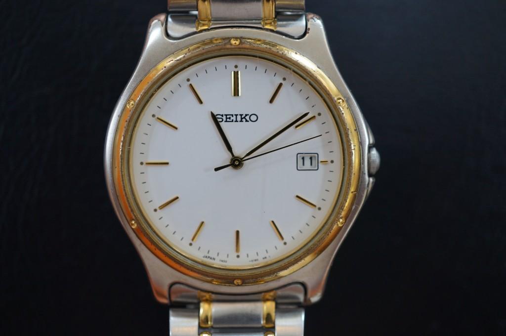 No.458  SEIKO(セイコー)クォーツ腕時計を修理しました