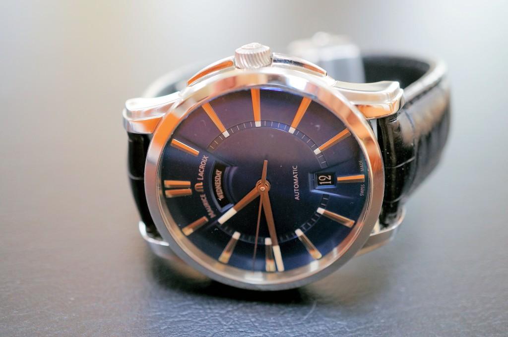No.457  MAURICE  LACROIX(モーリスラクロア)自動巻き腕時計を修理しました
