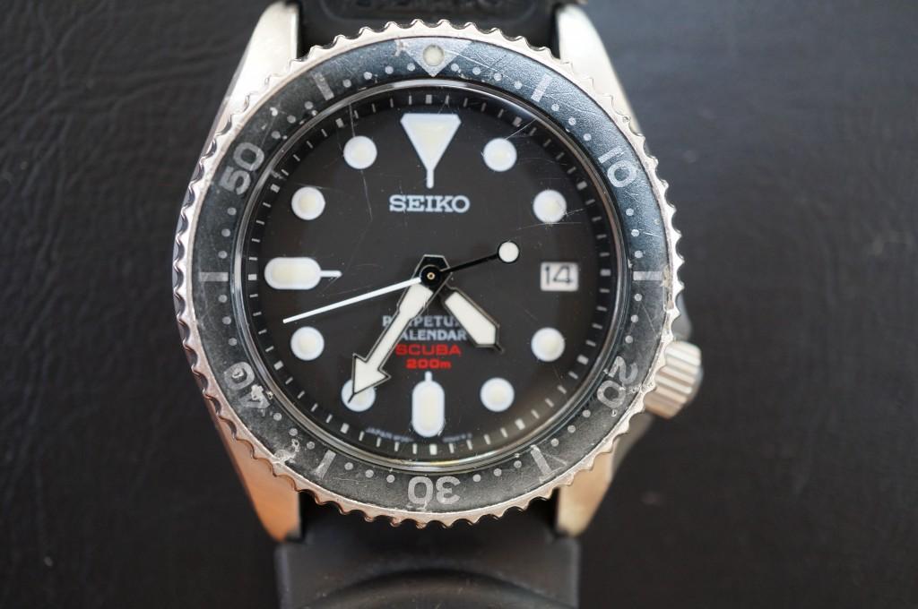 No.478  SEIKO(セイコー)クォーツ腕時計を修理しました