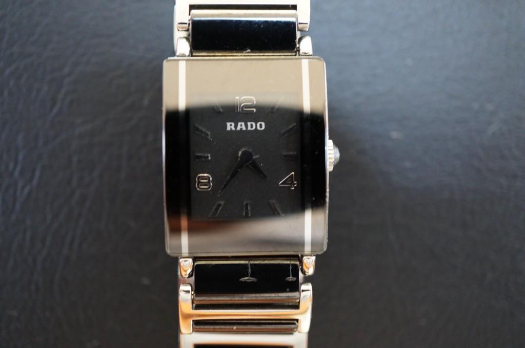 No.476  RADO(ラドー)クォーツ腕時計を修理しました