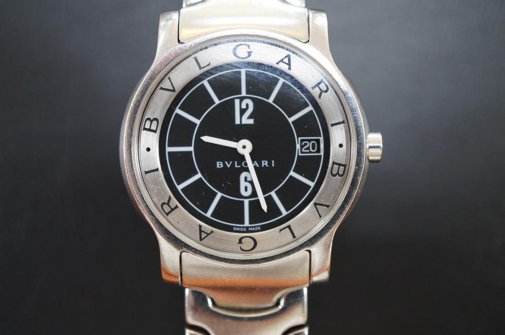 No.475  BVLGARI(ブルガリ)クォーツ腕時計を修理しました