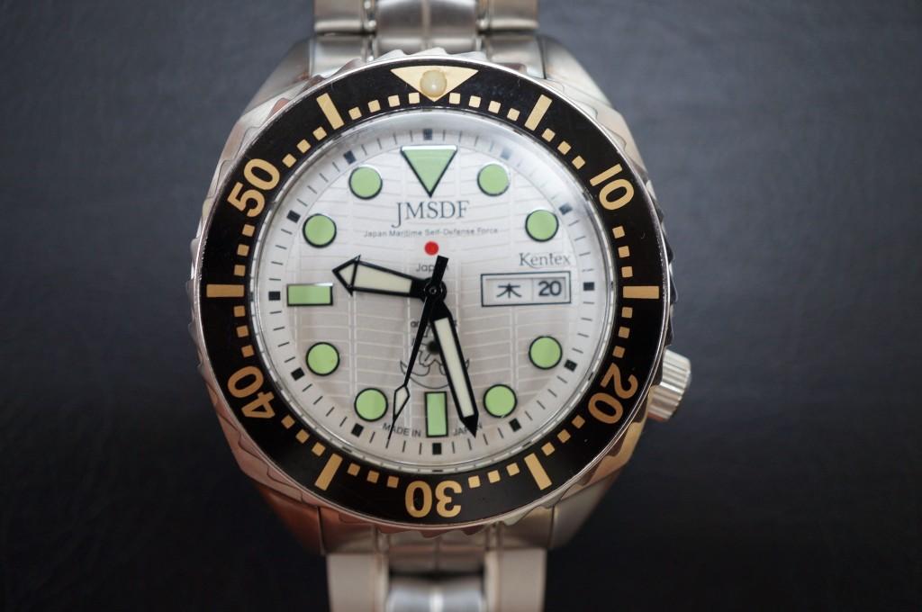 No.474  JMSDF(オリジナル)クォーツ腕時計を修理しました