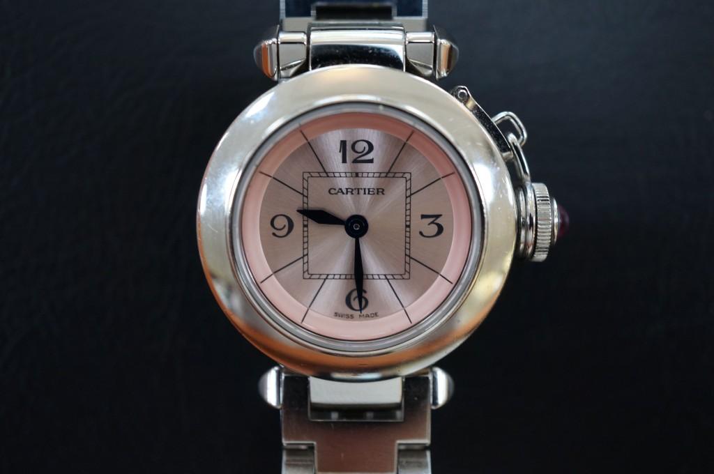 No.472  Carter(カルティエ)クォーツ腕時計を修理しました
