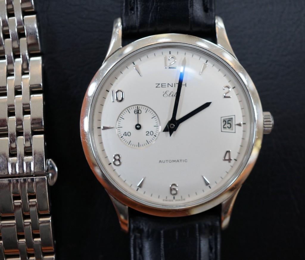 No.483  ZENITH(ゼニス)自動巻き腕時計を修理しました