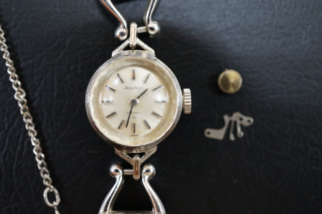 No.501  SEIKO(セイコー)手巻き腕時計を修理しました