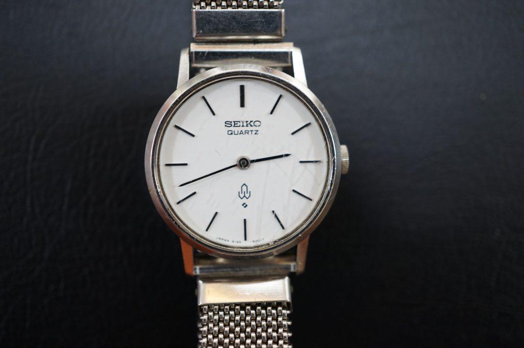 No.507  SEIKO(セイコー)クォーツ腕時計を修理しました