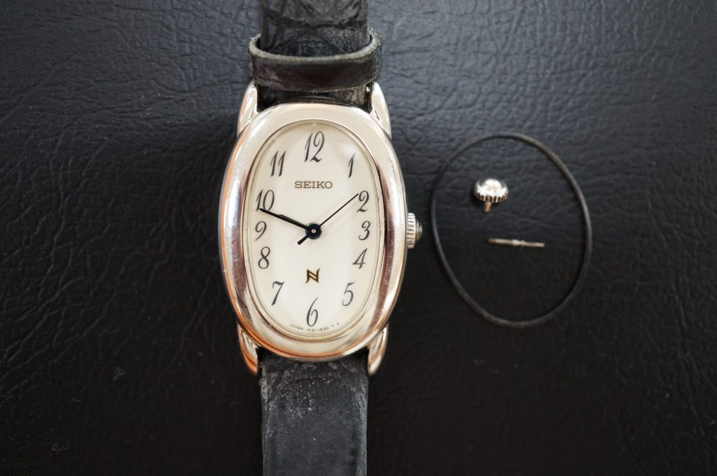No.505  SEIKO(セイコー)クォーツ腕時計を修理しました