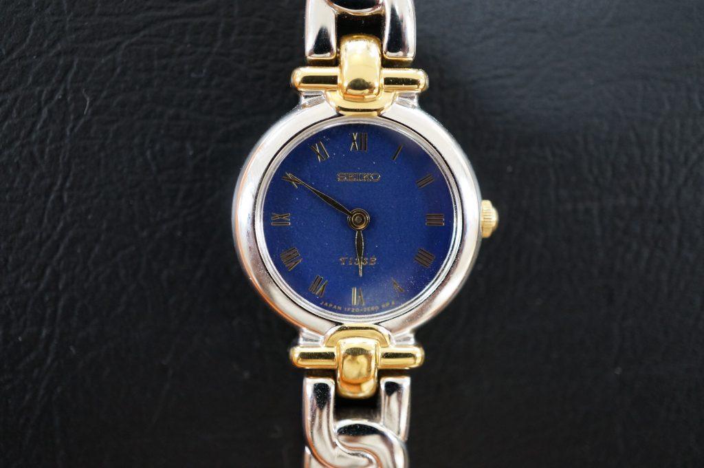 No.506  SEIKO TISSE(セイコー ティセ)クォーツ腕時計を修理しました