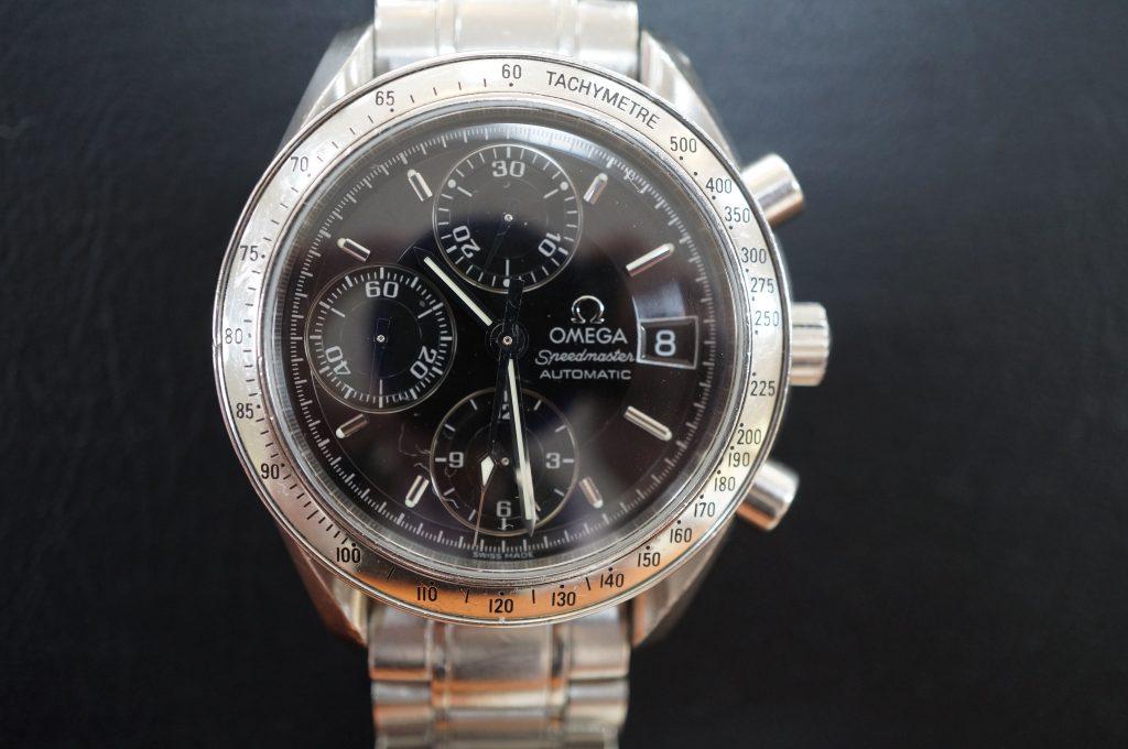 No.504  OMEGA Speedmaster (オメガスピードマスター)自動巻腕時計を修理しました