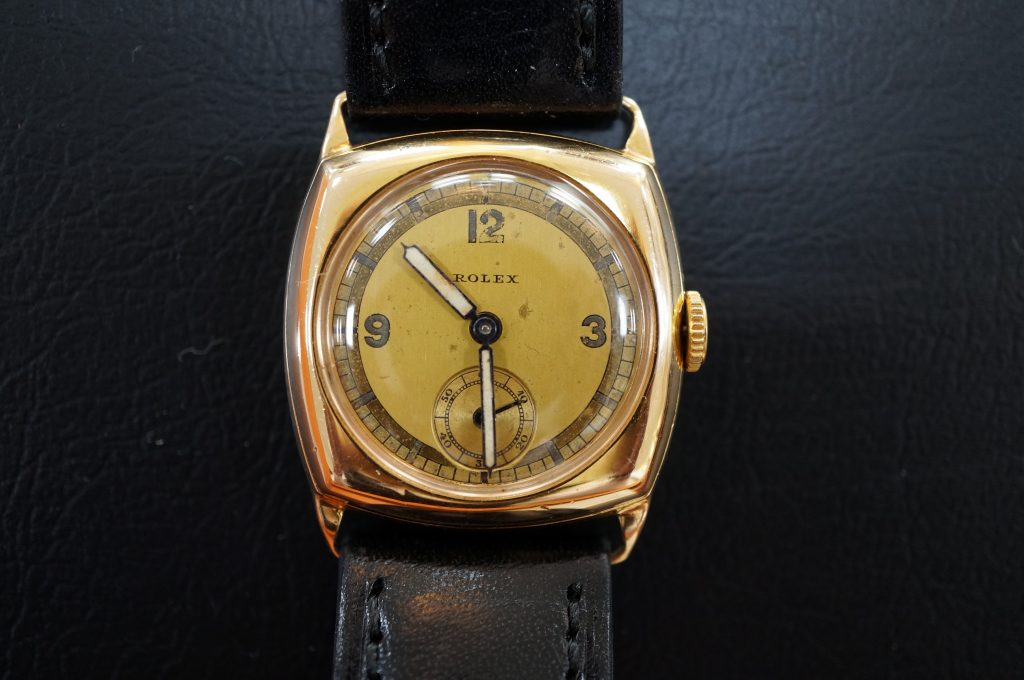 No.503  ROLEX  (ロレックス) 手巻き腕時計を修理しました