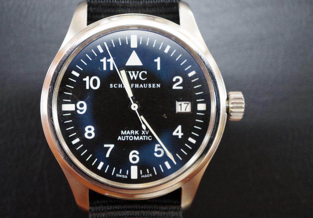 No.511  IWC (インターナショナルウォッチカンパニー) 自動巻き腕時計を修理しました