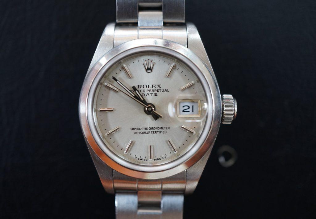 No.510  ROLEX (ロレックス) 自動巻き腕時計を修理しました